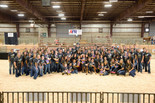 Shawnee FFA members recently volunteered at the 2nd annual Gold Star Classic-AFR Special Needs Livestock Show.